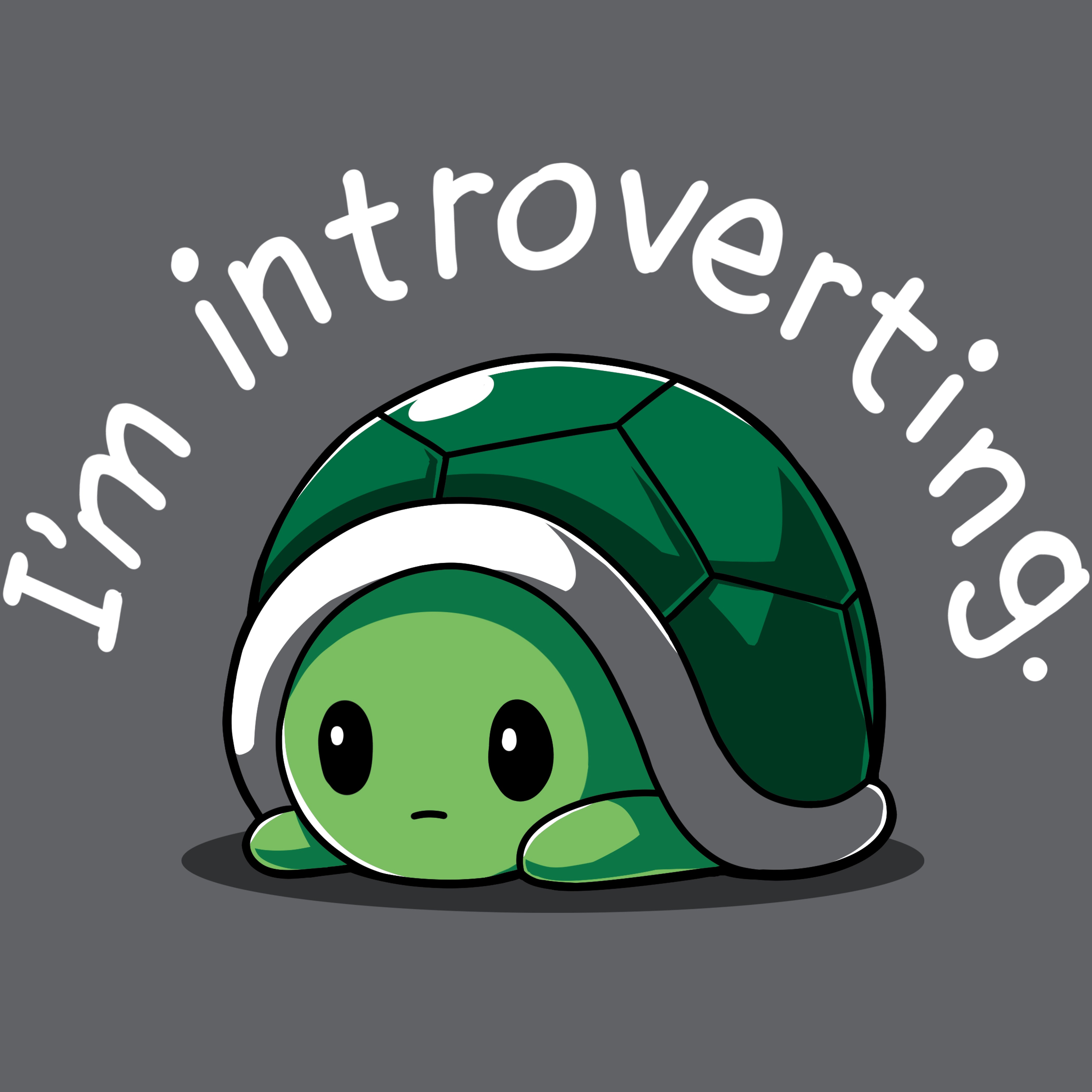 I'm Introverting T-Shirt TeeTurtle
