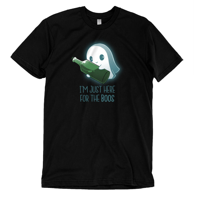 I'm Just Here For the Boos T-Shirt TeeTurtle