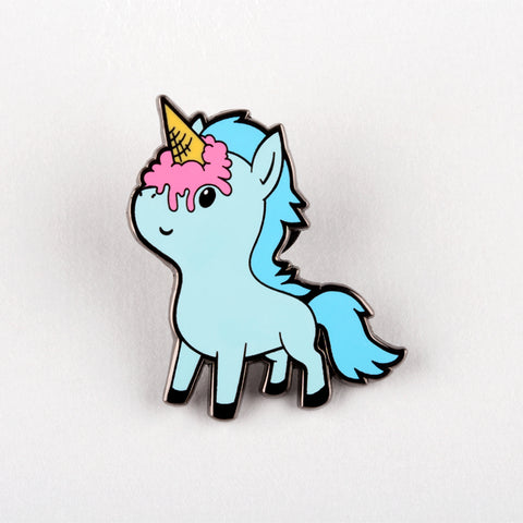 Ice Cream Unicorn Pin