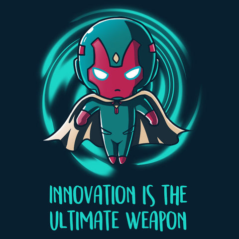 Innovation Is the Ultimate Weapon T-Shirt Marvel TeeTurtle