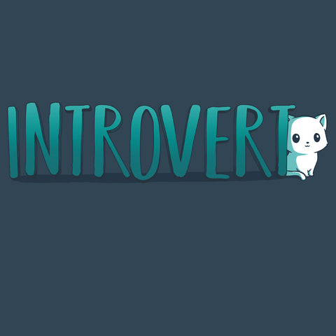 Introvert T-Shirt TeeTurtle