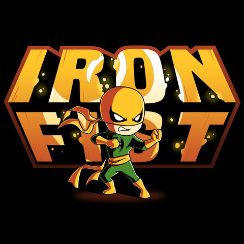 Iron Fist Shirt t-shirt Marvel TeeTurtle