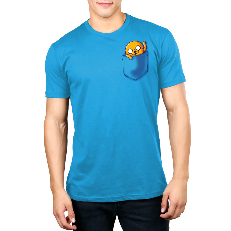 Jake Pocket Women's Standard Unisex T-Shirt Model Adventure Time TeeTurtle