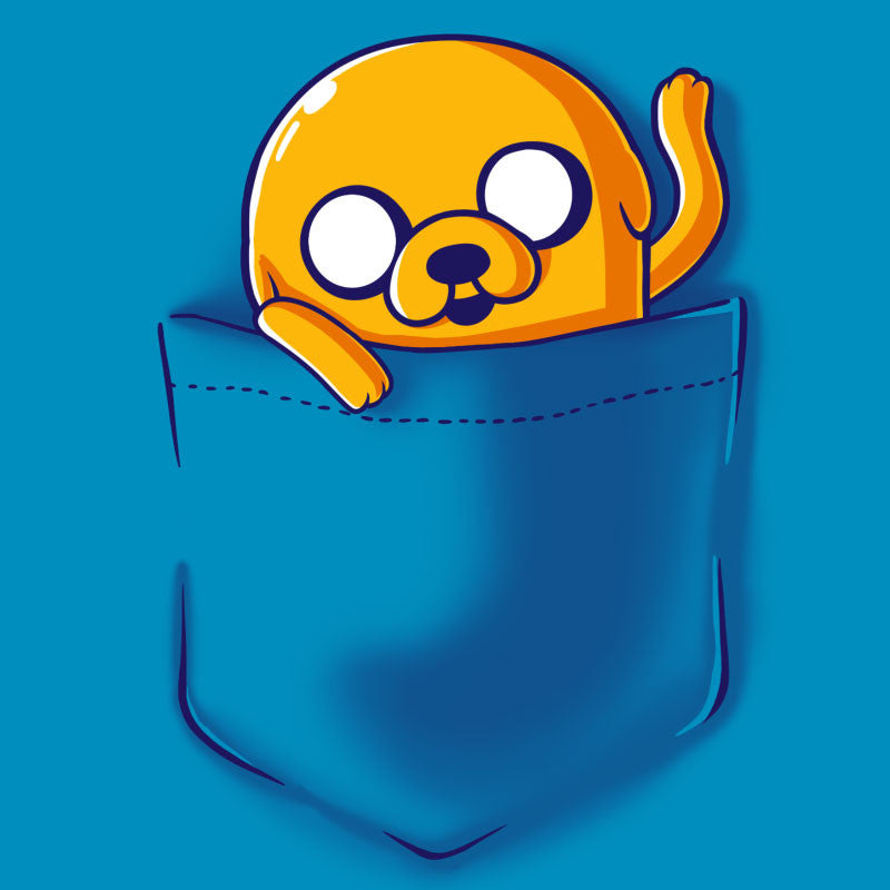 Jake Pocket t-shirt Adventure Time TeeTurtle