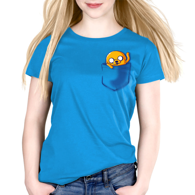 Jake Pocket Women's Relaxed Fit T-Shirt Model Adventure Time TeeTurtle