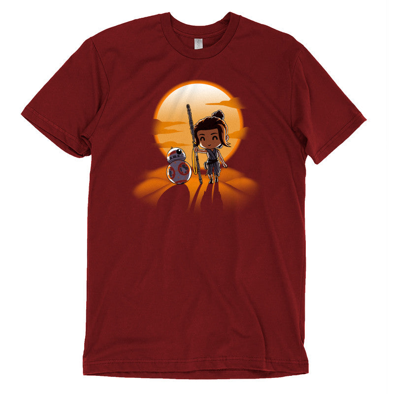 Jakku Sunset t-shirt Star Wars TeeTurtle