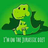Jurassic Diet t-shirt TeeTurtle