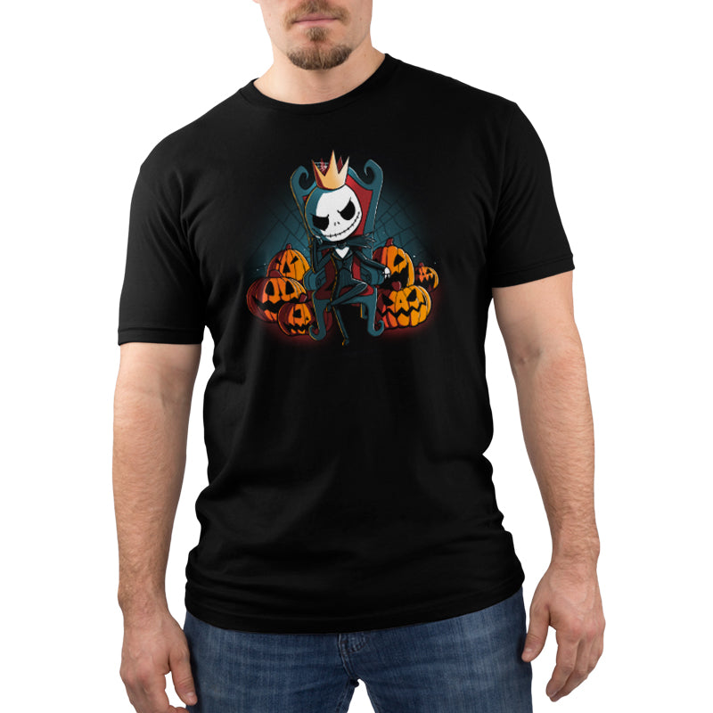 King of Halloween Town Men's T-Shirt Model Disney TeeTurtle
