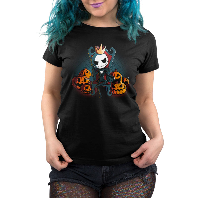 King of Halloween Town Women's T-Shirt Model Disney TeeTurtle