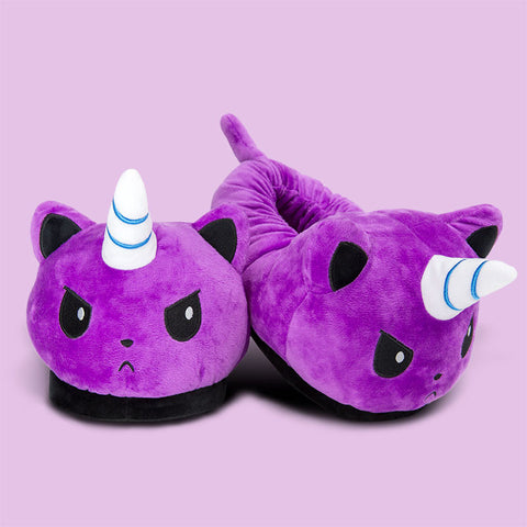 Kittencorn Slippers TeeTurtle
