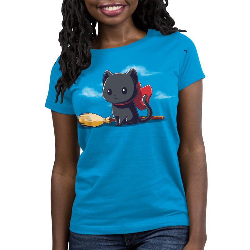 Kitty Express Women's Relaxed Fit T-Shirt Model TeeTurtle