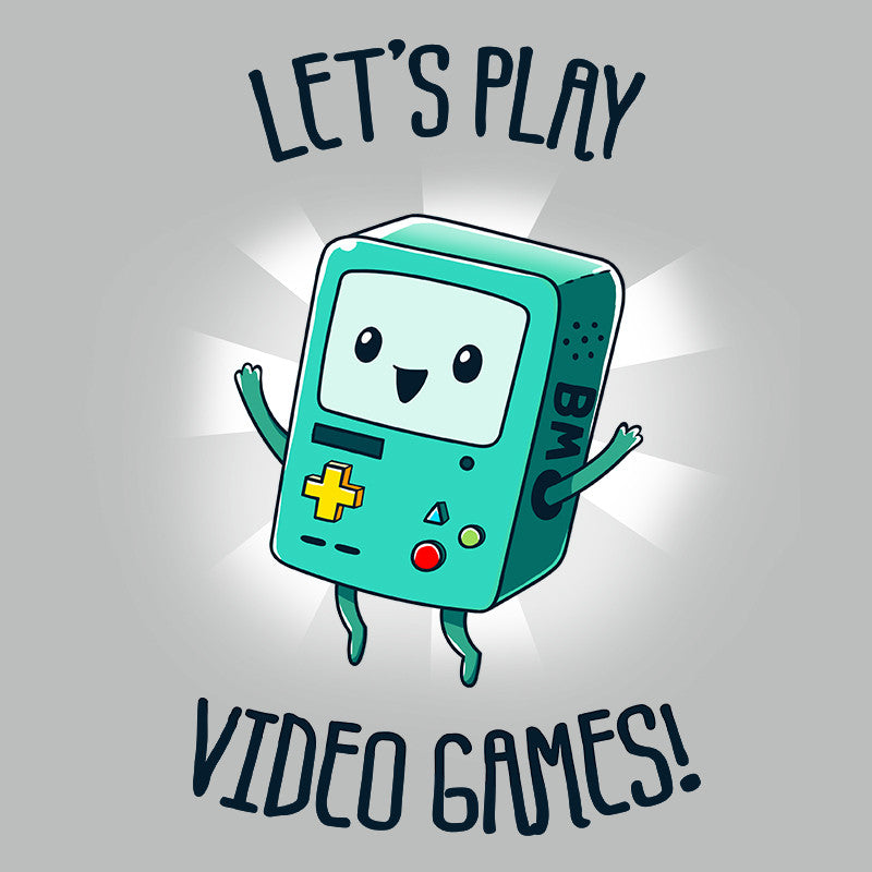 Let's Play Video Games t-shirt Adventure Time TeeTurtle