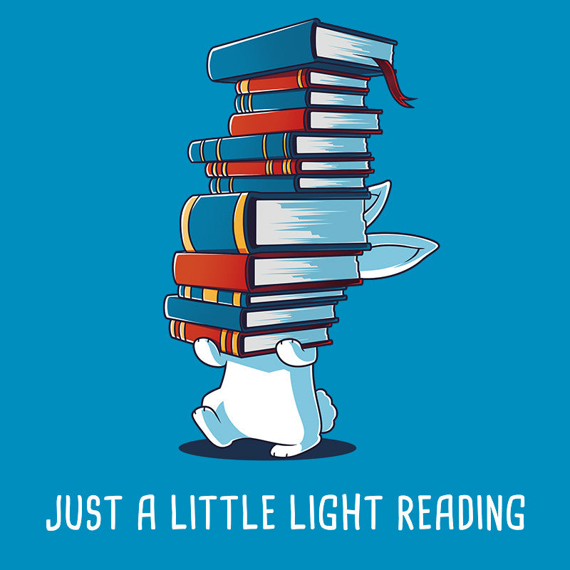 Just a Little Light Reading t-shirt TeeTurtle