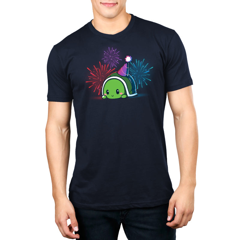 Limited Edition 2018 TeeTurtle Birthday Shirt Standard T-Shirt Model TeeTurtle