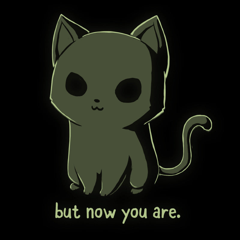 Lucky Kitty (Black) shirt TeeTurtle
