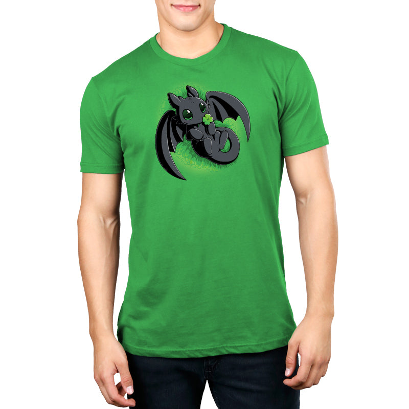 Lucky Toothless Standard T-Shirt Model How to Train Your Dragon TeeTurtle