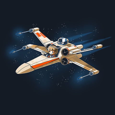Red Five t-shirt Star Wars TeeTurtle