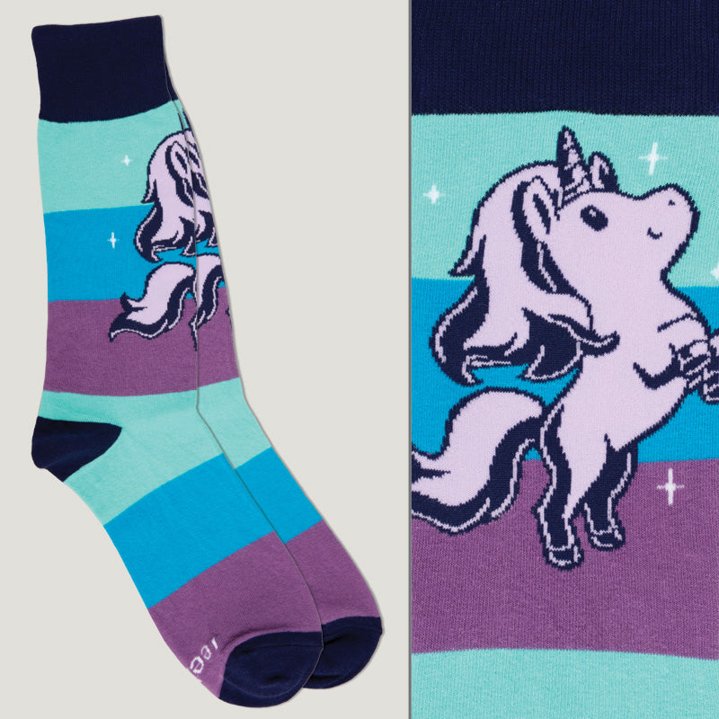 Mermaid Magical Unicorn Socks TeeTurtle