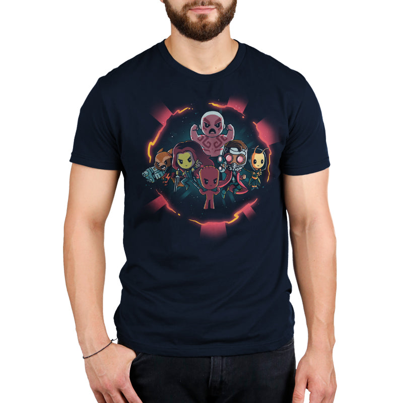 Marvel Guardians of the Galaxy Shirt Men's T-Shirt Model Marvel TeeTurtle