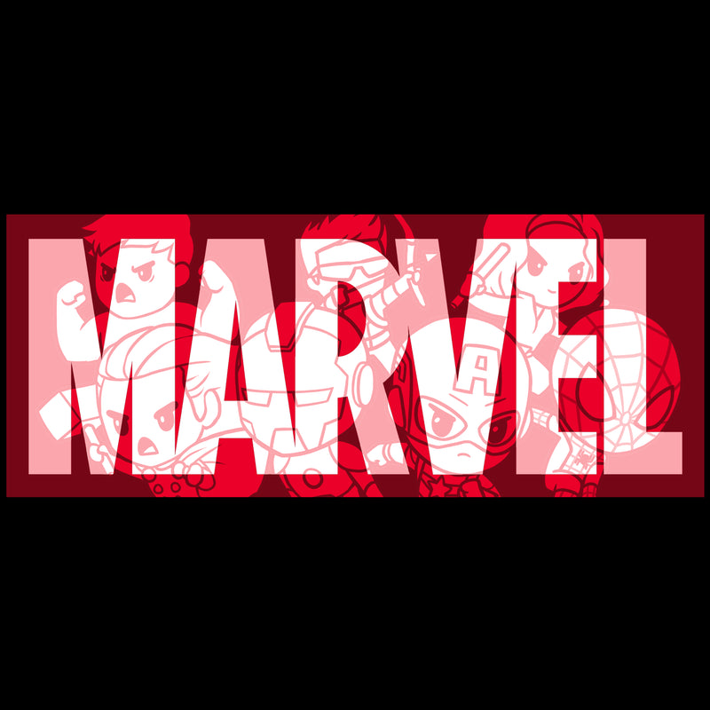 Marvel Logo Shirt T-Shirt Marvel TeeTurtle