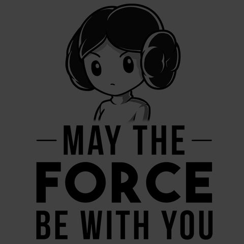 May the Force Be With You T-Shirt Star Wars TeeTurtle
