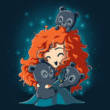 BFFs (Merida and the Triplets) T-Shirt Brave TeeTurtle