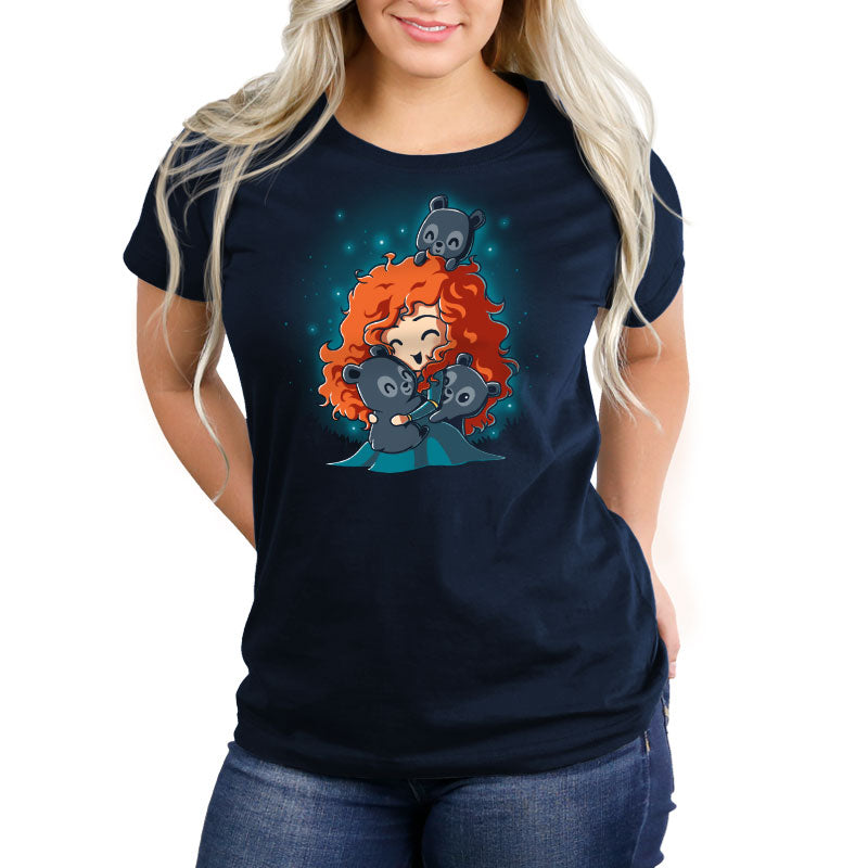 BFFs (Merida and the Triplets) Women's Relaxed Fit T-Shirt Model Brave TeeTurtle