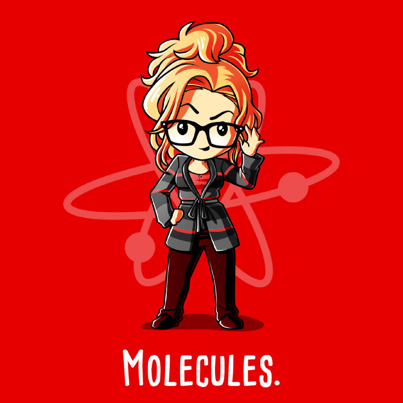 Molecules. t-shirt The Big Bang Theory TeeTurtle