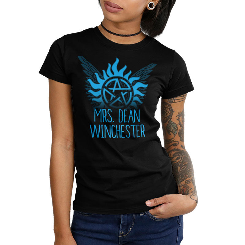 Mrs. Dean Winchester Juniors T-Shirt Model Supernatural TeeTurtle