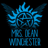 Mrs. Dean Winchester T-Shirt Supernatural TeeTurtle