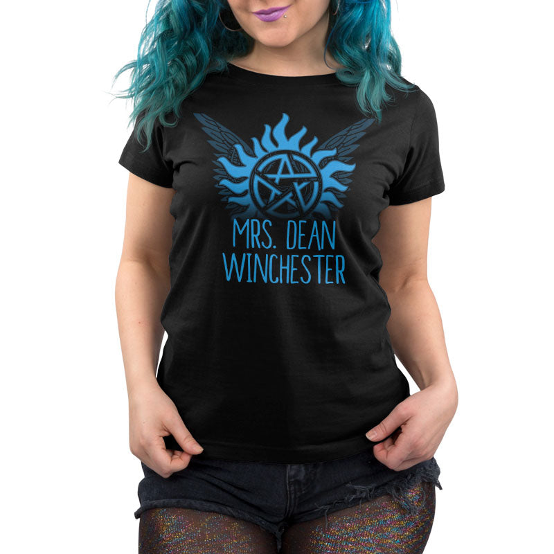 Mrs. Dean Winchester Women's T-Shirt Model Supernatural TeeTurtle