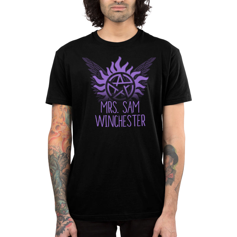 Mrs. Sam Winchester Men's T-Shirt Model Supernatural TeeTurtle