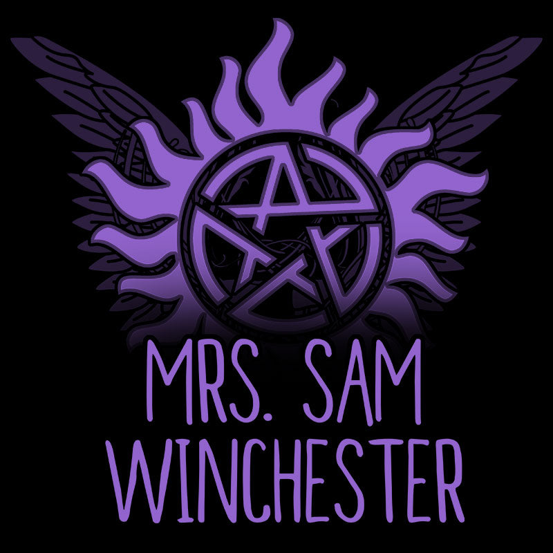 Mrs. Sam Winchester T-Shirt Supernatural TeeTurtle