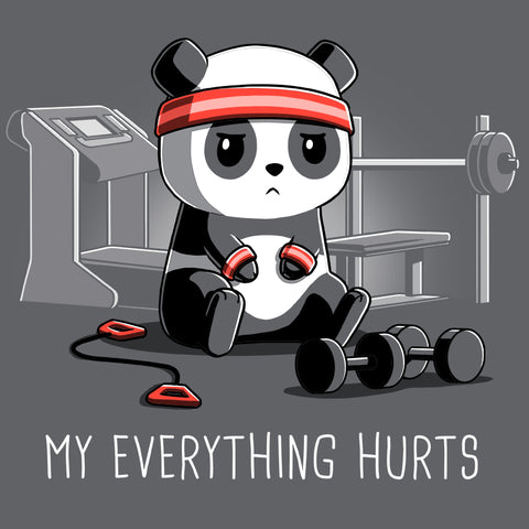 My Everything Hurts T-Shirt TeeTurtle