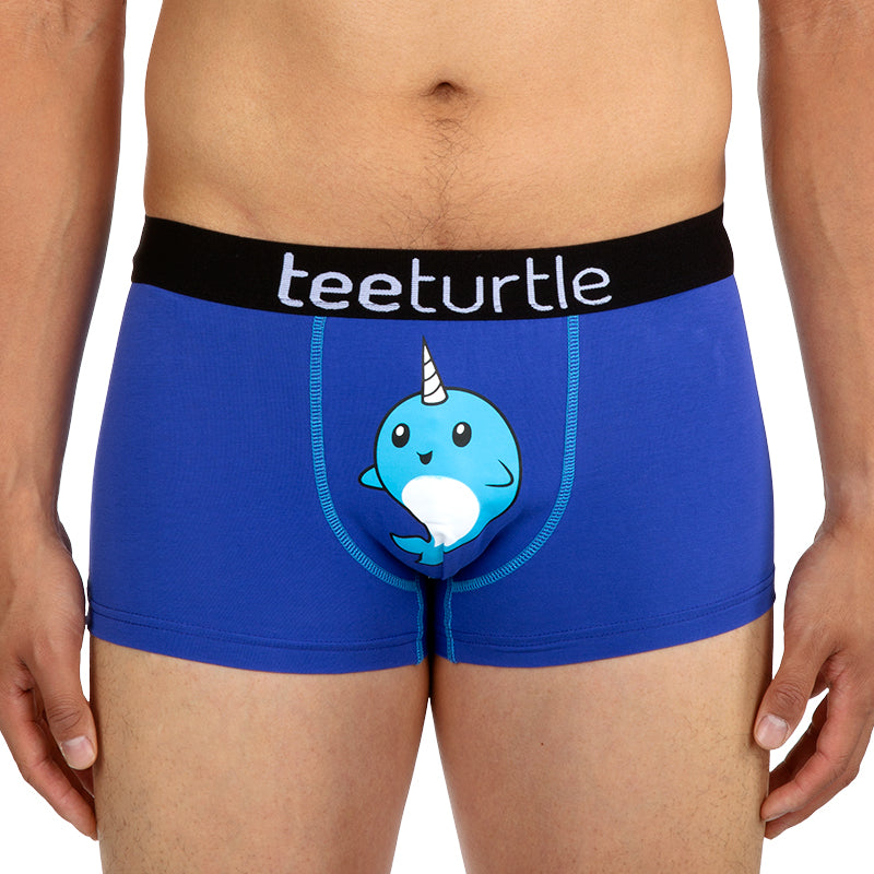 Narwhal Underwear Model TeeTurtle