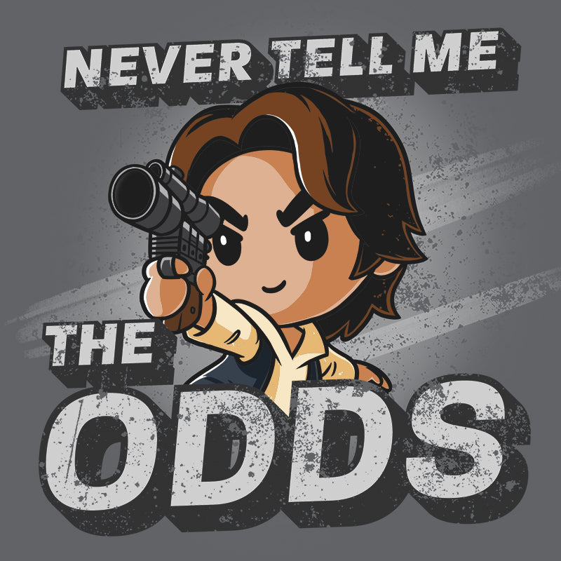 Never Tell Me The Odds T-Shirt Star Wars TeeTurtle