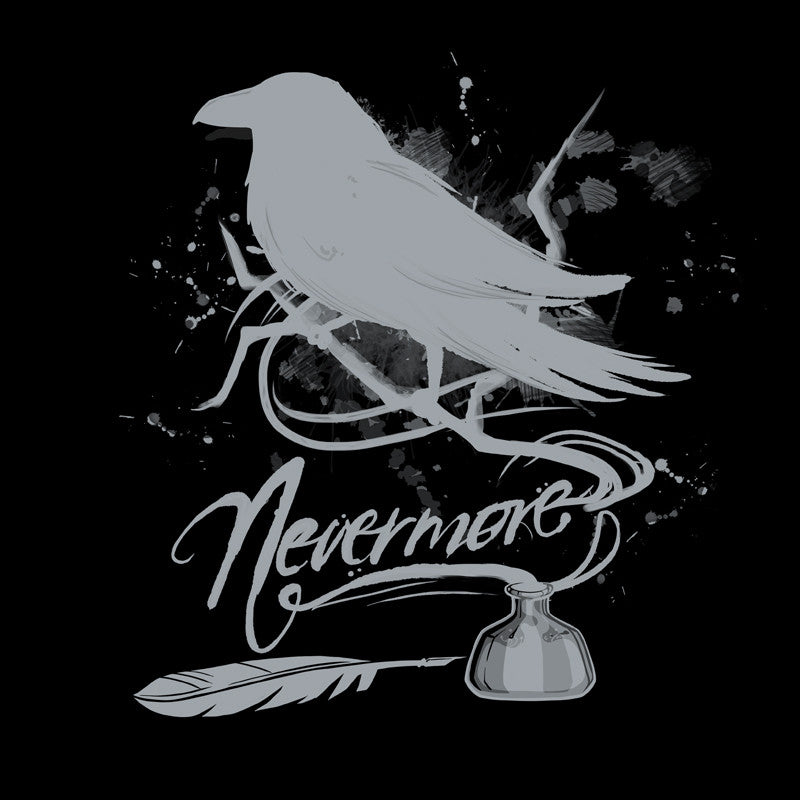 Nevermore Black t-shirt TeeTurtle