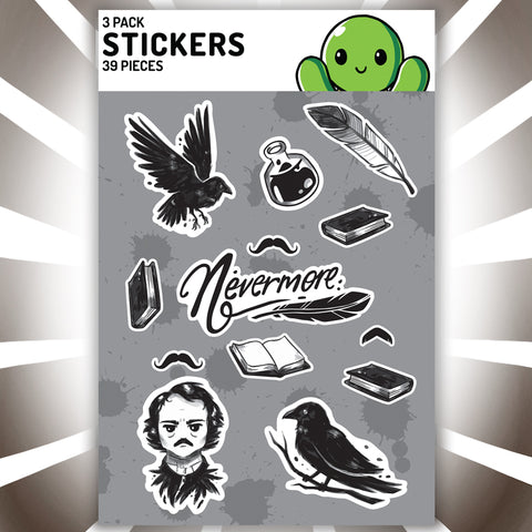 Nevermore Stickers