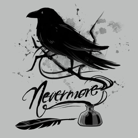 Nevermore shirt TeeTurtle