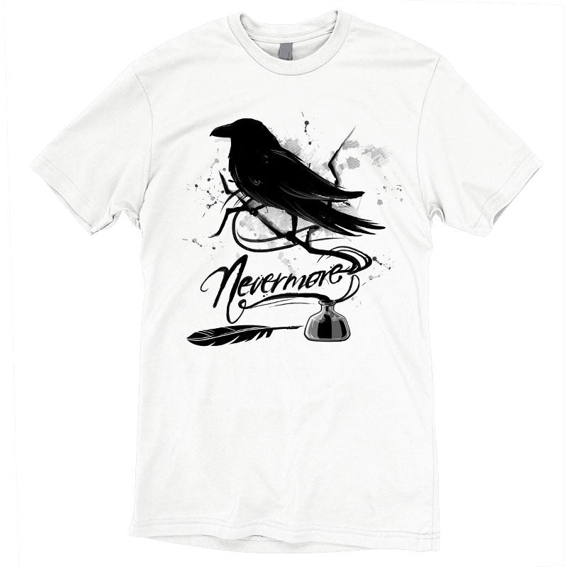 Nevermore t-shirt TeeTurtle