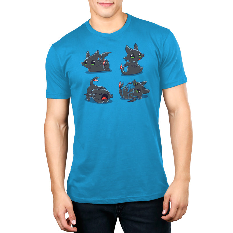 Night Purry Standard T-Shirt Model How To Train Your Dragon TeeTurtle
