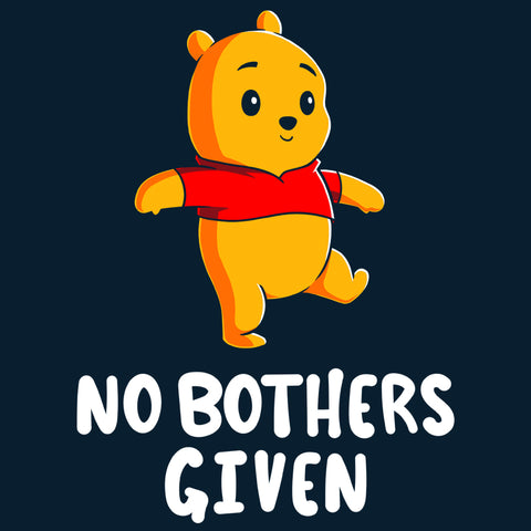 No Bothers Given T-Shirt Disney TeeTurtle