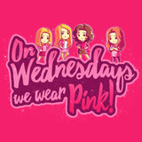 On Wednesdays, We Wear Pink! shirt TeeTurtle