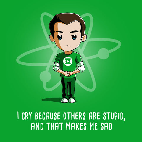 Other People Are Stupid t-shirt The Big Bang Theory TeeTurtle