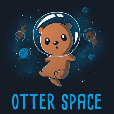 Otter Space t-shirt TeeTurtle