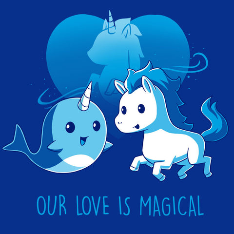 Our Love Is Magical t-shirt TeeTurtle