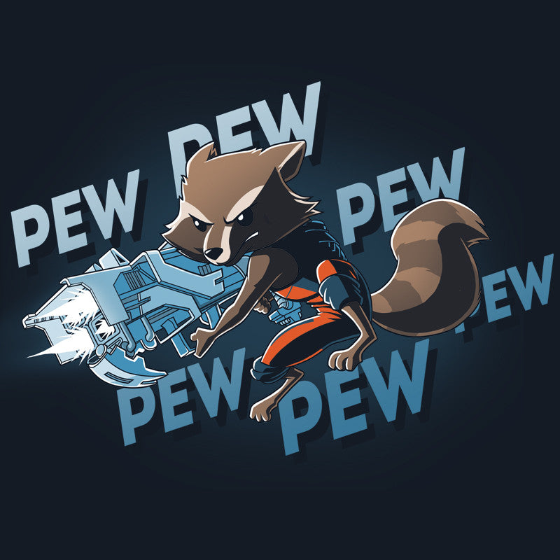 Pew Pew Rocket t-shirt Marvel TeeTurtle