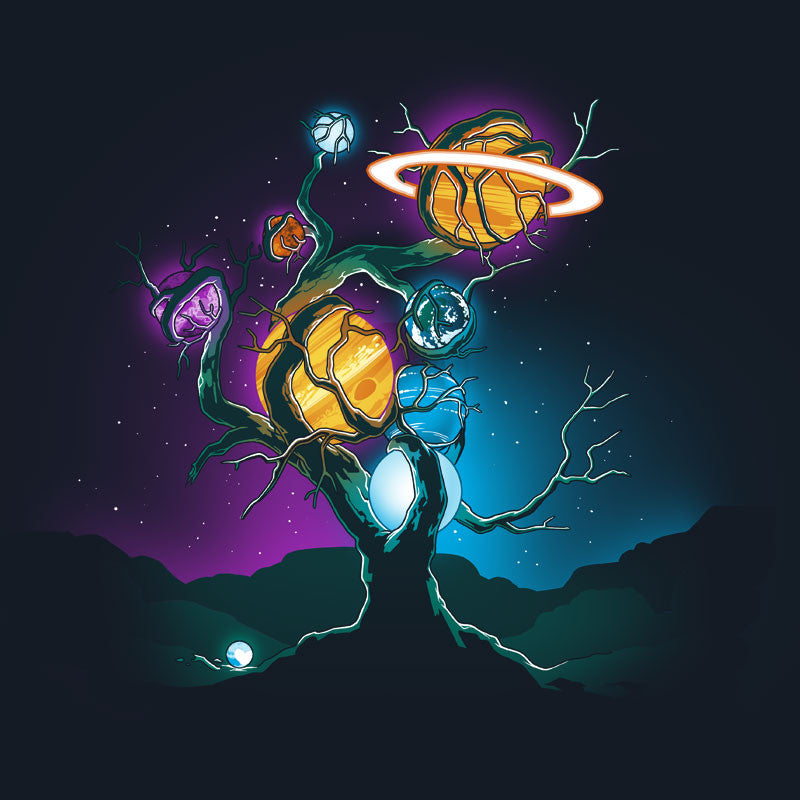 Planetary Tree T-Shirt TeeTurtle