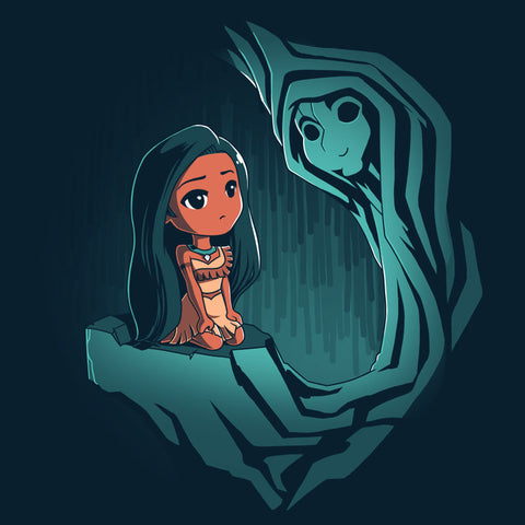 Pocahontas and Grandmother Willow T-Shirt Pocahontas TeeTurtle