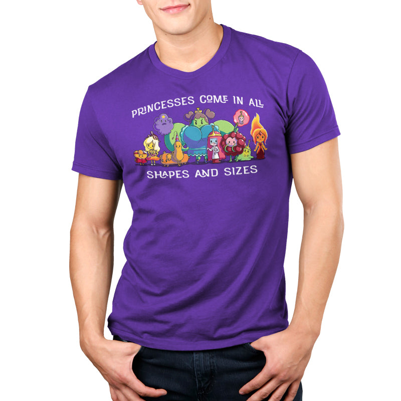 Princesses Come in All Shapes and Sizes Standard T-Shirt Model Adventure Time TeeTurtle